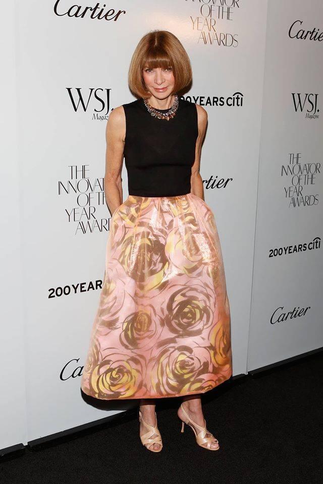 платье нью-лук, стиль Анны Винтур