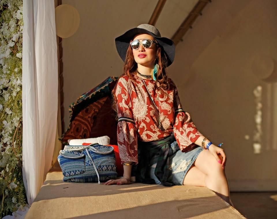 Блуза в стиле хиппи, принт пейсли