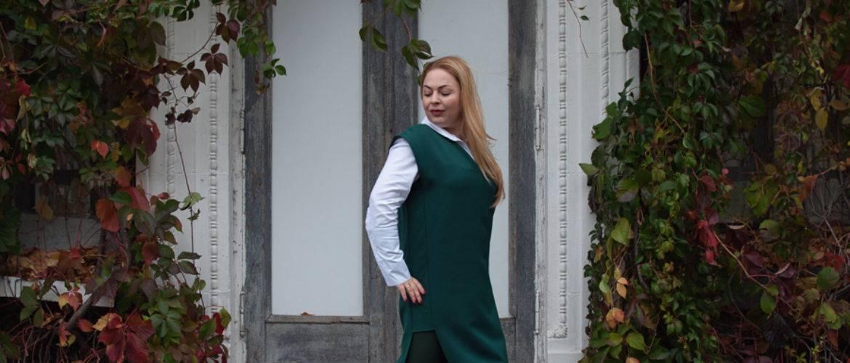 Белая рубашка, монохромный образ, украинские бренды, как одеваться удлинить маленький рост