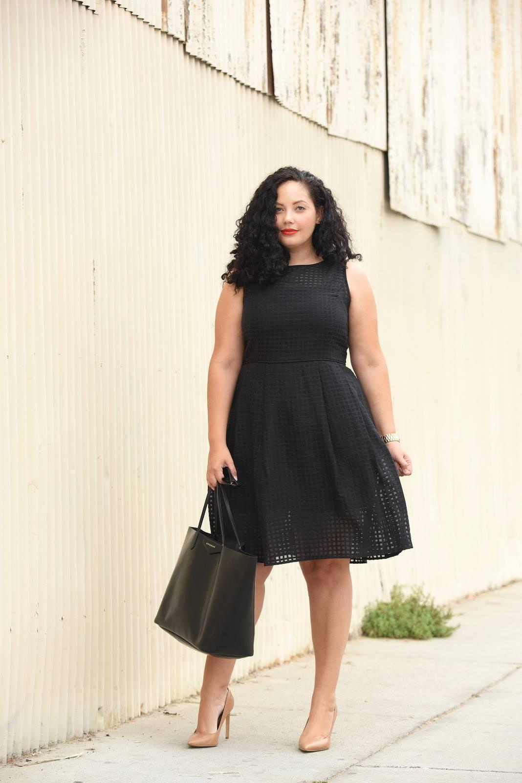 Маленькое черное платье нью-лук