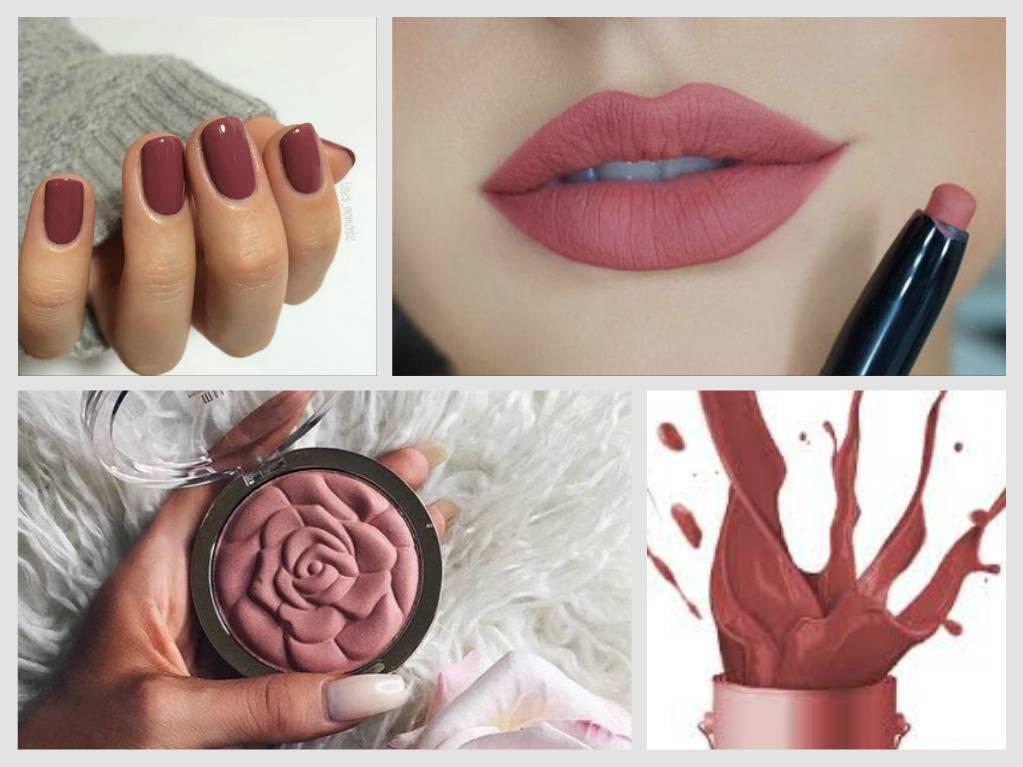 Модный розовый цвет 2016 в макияже