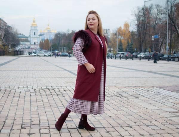 украинские бренды, зимняя одежда, теплое платье