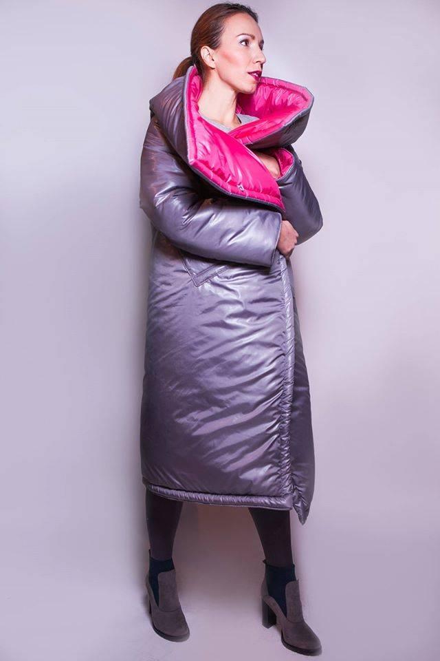 Стильные пальто-одеялы Киев Logic clothes