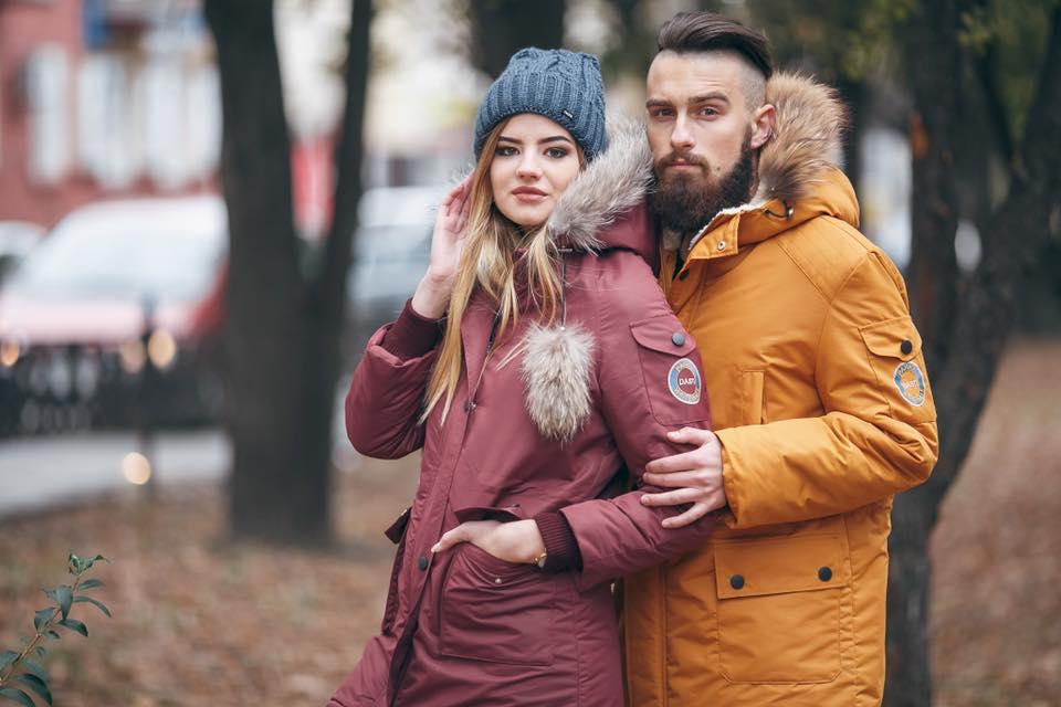 женские мужские парки Made in Ukraine Dasti