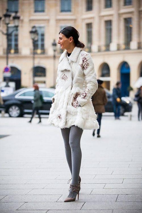 модные колготки осень зима 2017