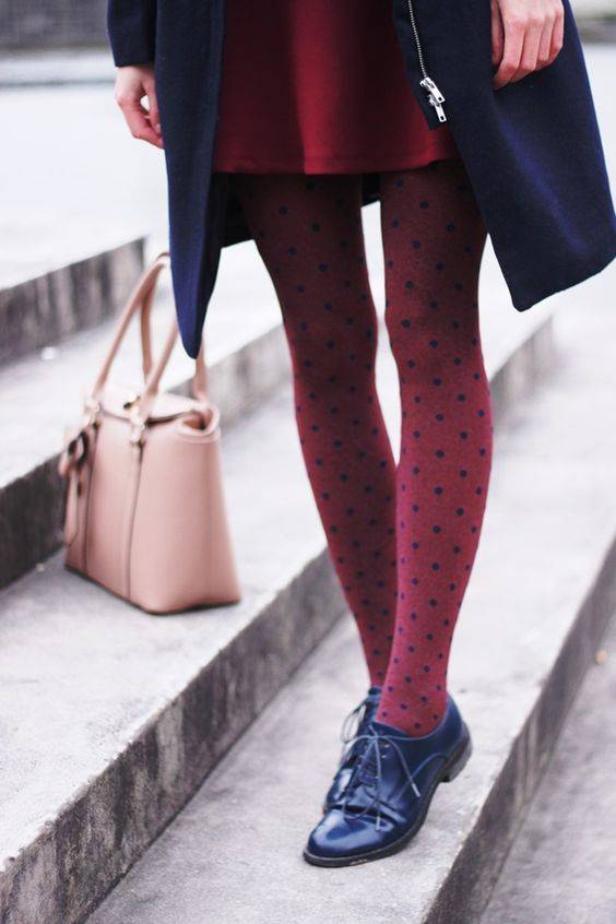 Модные колготки осень-зима 2016