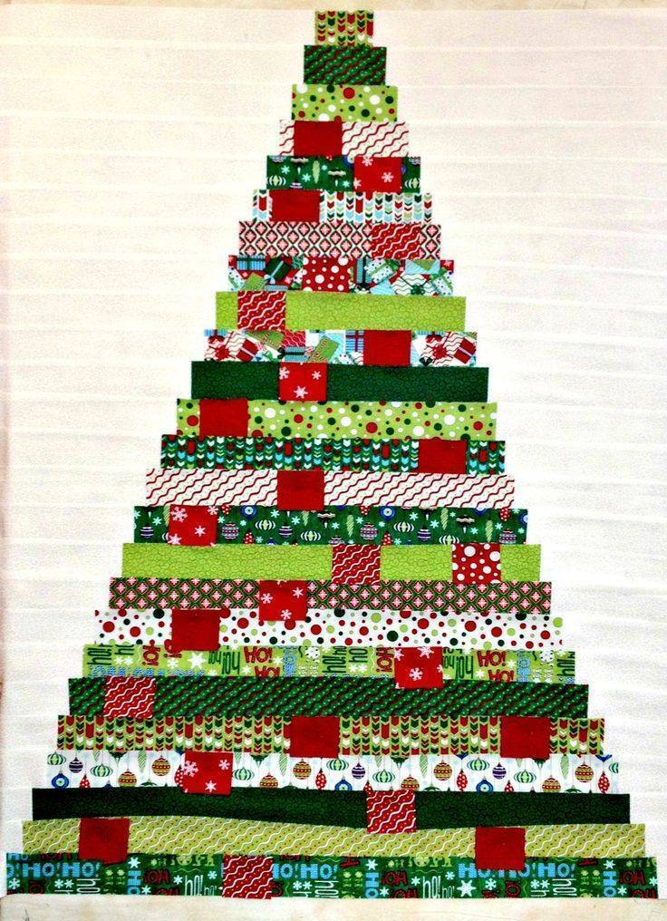 как украсить елку как нарядить елку своими руками елка из ткани