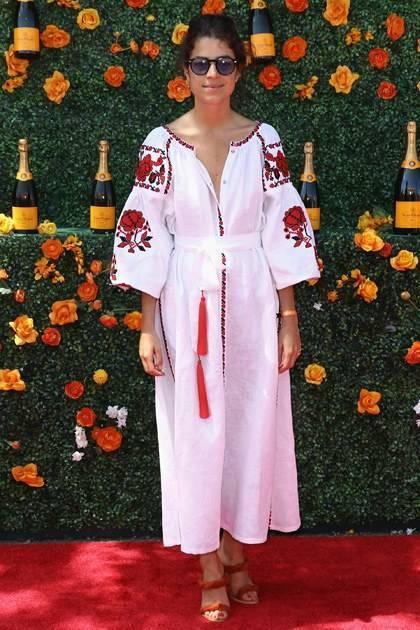 платье вышиванка Леандра Медин В чем встречать Новый год