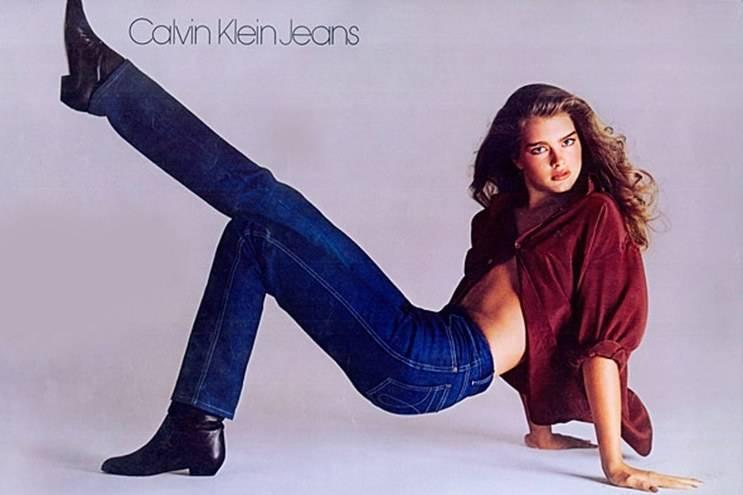 история джинсов деним калвин кляйн брук шилдс