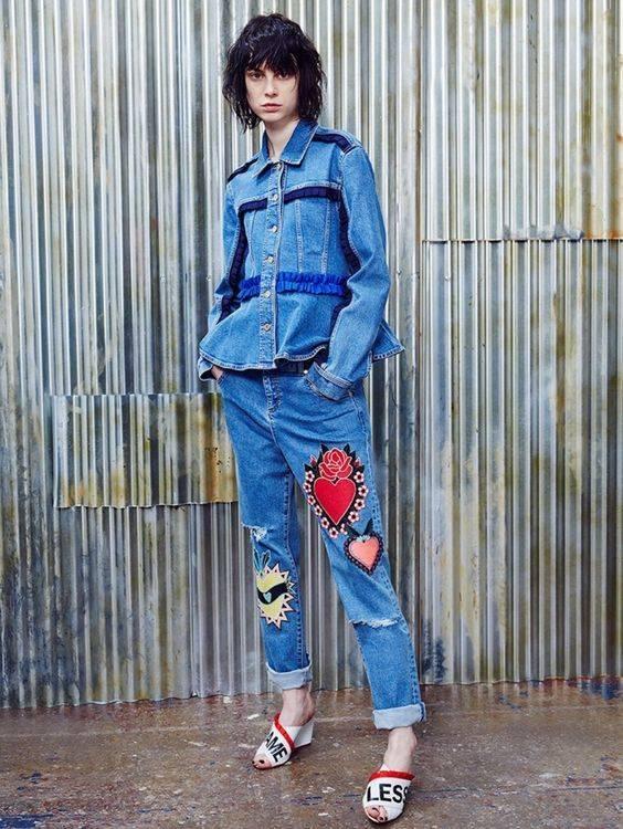 история джинсов деним модные джинсы 2017