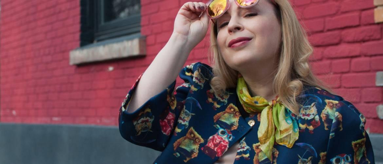как сочетать принты яркие принты совы летнее пальто с чем носить