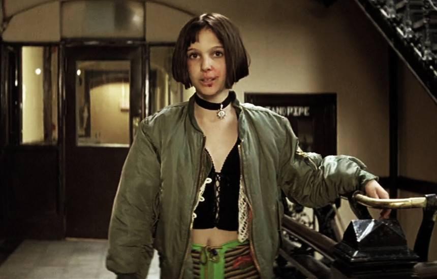 куртка бомбер женская фото натали портман леон киллер