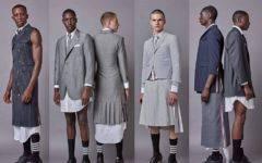 могут ли мужчины носить юбки платья история моды
