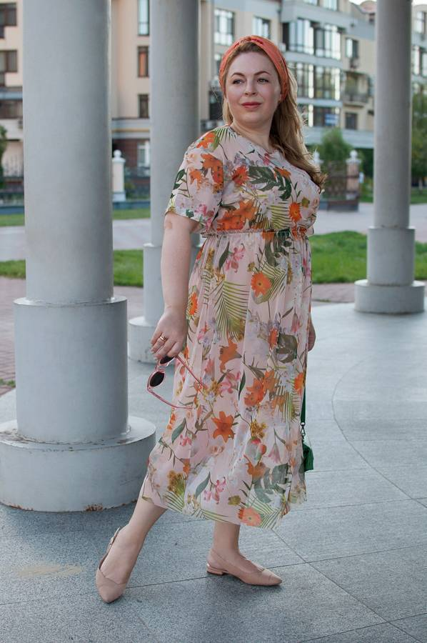 летнее платье прозрачное с чем как носить