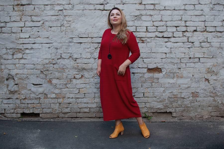 Как сделать себя в красном платье