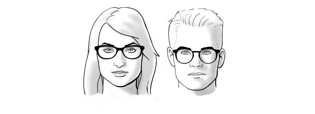 как подобрать очки по типу лица правильно как подобрать очки для зрения  модные очки 2017 оправы 52720648ebb61