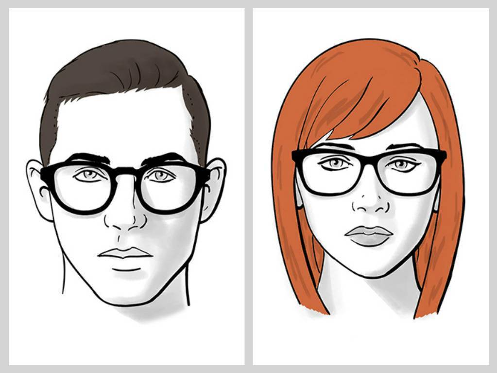 как подобрать очки по типу лица правильно как подобрать очки для зрения  модные очки 2017 оправы ddd3c4d371946