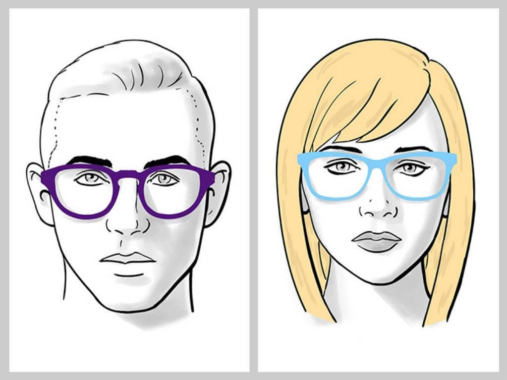 как подобрать очки по типу лица правильно как подобрать очки для зрения модные очки 2017 оправы как выбрать очки под цвет волос