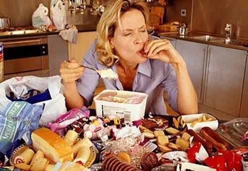 как похудеть заедаем стресс здоровое питание компульсивное переедание