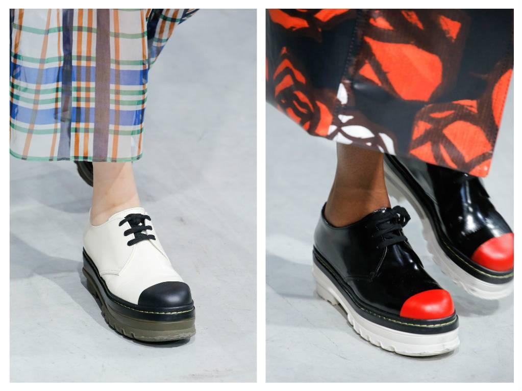 модная обувь весна 2018 лето модные тренды какая обувь в моде marni