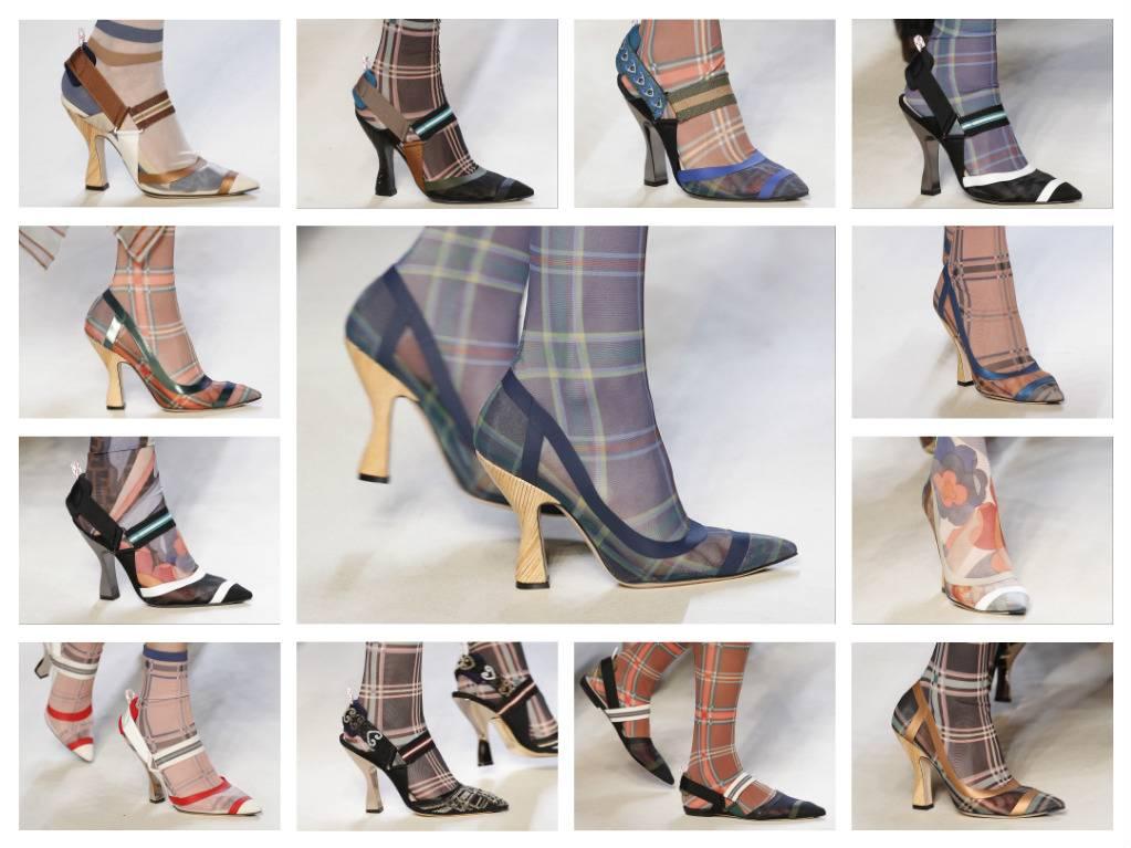 модная обувь весна 2018 лето модные тренды какая обувь в моде