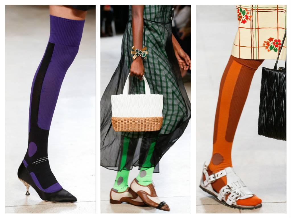 модная обувь весна 2018 лето модные тренды какая обувь в моде miu miu
