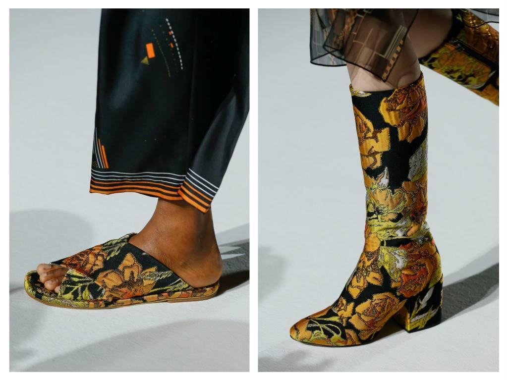 модная обувь весна 2018 лето модные тренды какая обувь в моде Dries van Notten