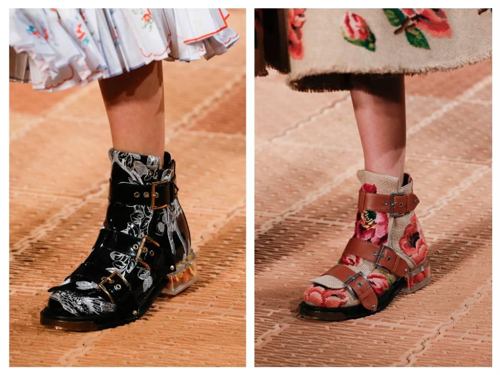 модная обувь весна 2018 лето модные тренды какая обувь в моде Alexander mcQueen