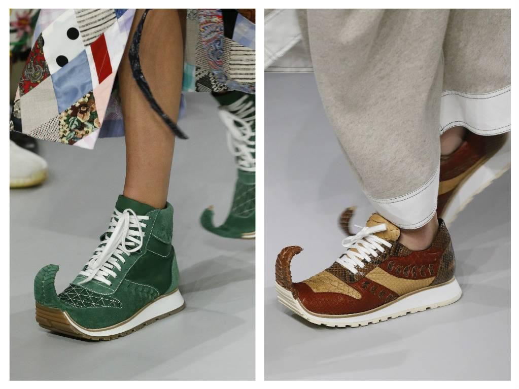 модная обувь весна 2018 лето модные тренды какая обувь в моде Loewe