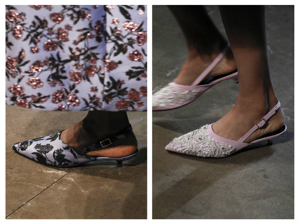 модная обувь весна 2018 лето модные тренды какая обувь в моде erdem