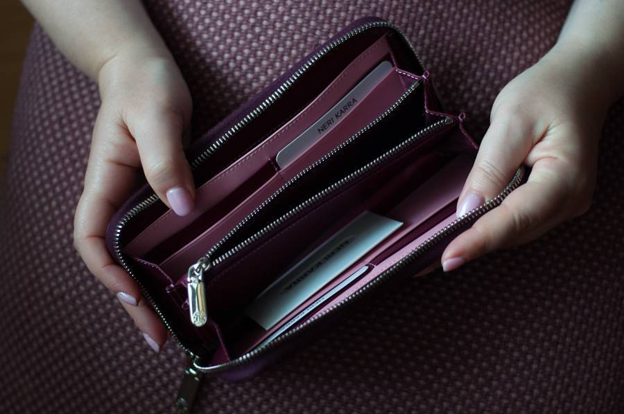 Кошельки Nerri Kara кожаные аксессуары гаманці шкіряні зі шкіри