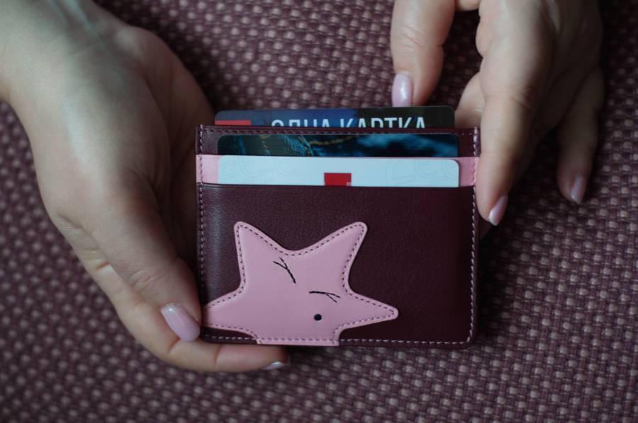 Кошельки Nerri Kara кожаные аксессуары кредитницы щкіряні гаманці зі шкіри