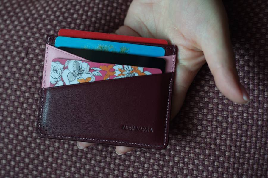 Кошельки Nerri Kara кожаные аксессуары кредитницы шкіряні гаманці зі шкріи