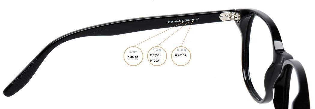 як правильно підібрати окуляри