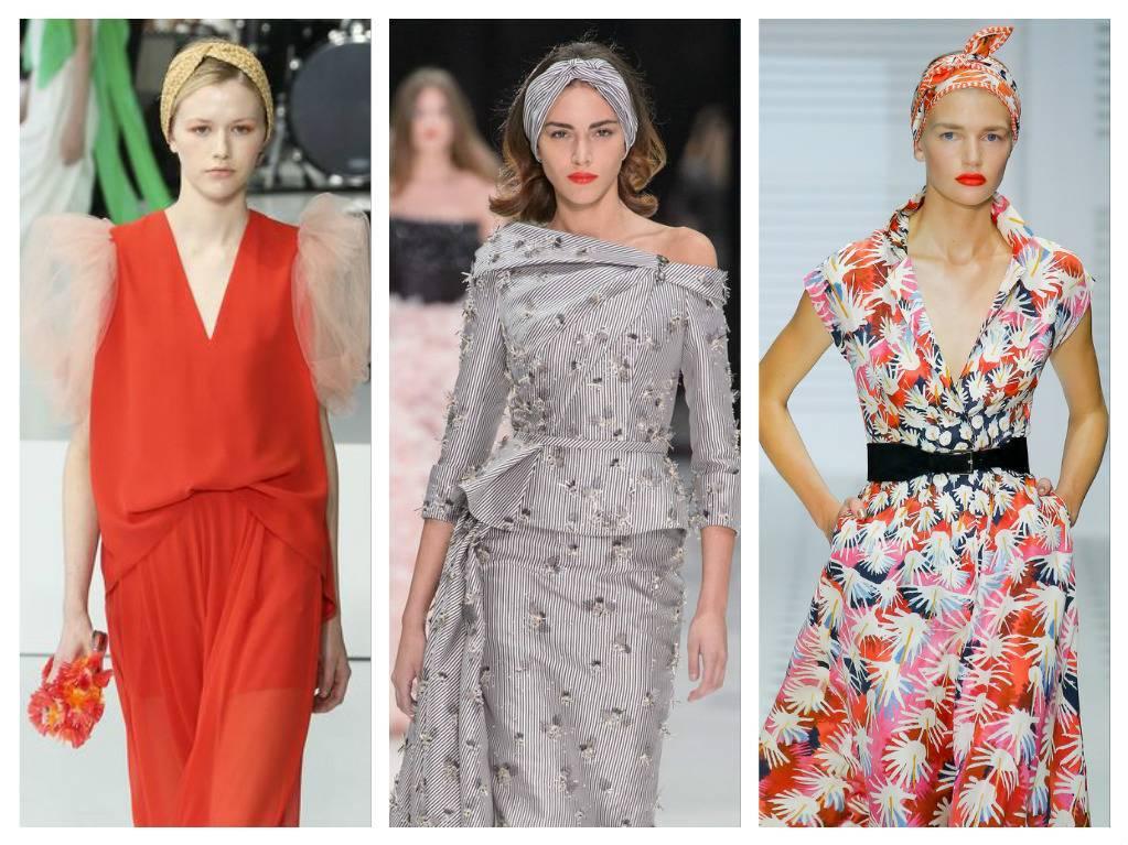 модные аксессуары весна лето 2018 тюрбаны какие в моде как носить