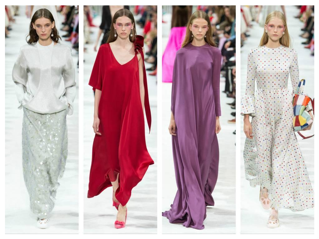 цнотливий одяг модний тренд скромні сукні Валентіно