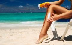 крем от солнца для лица солнцезащитные средства кремы SPF советы косметолога крем від сонця для обиччя сонцезахисні засоби крем з SPF