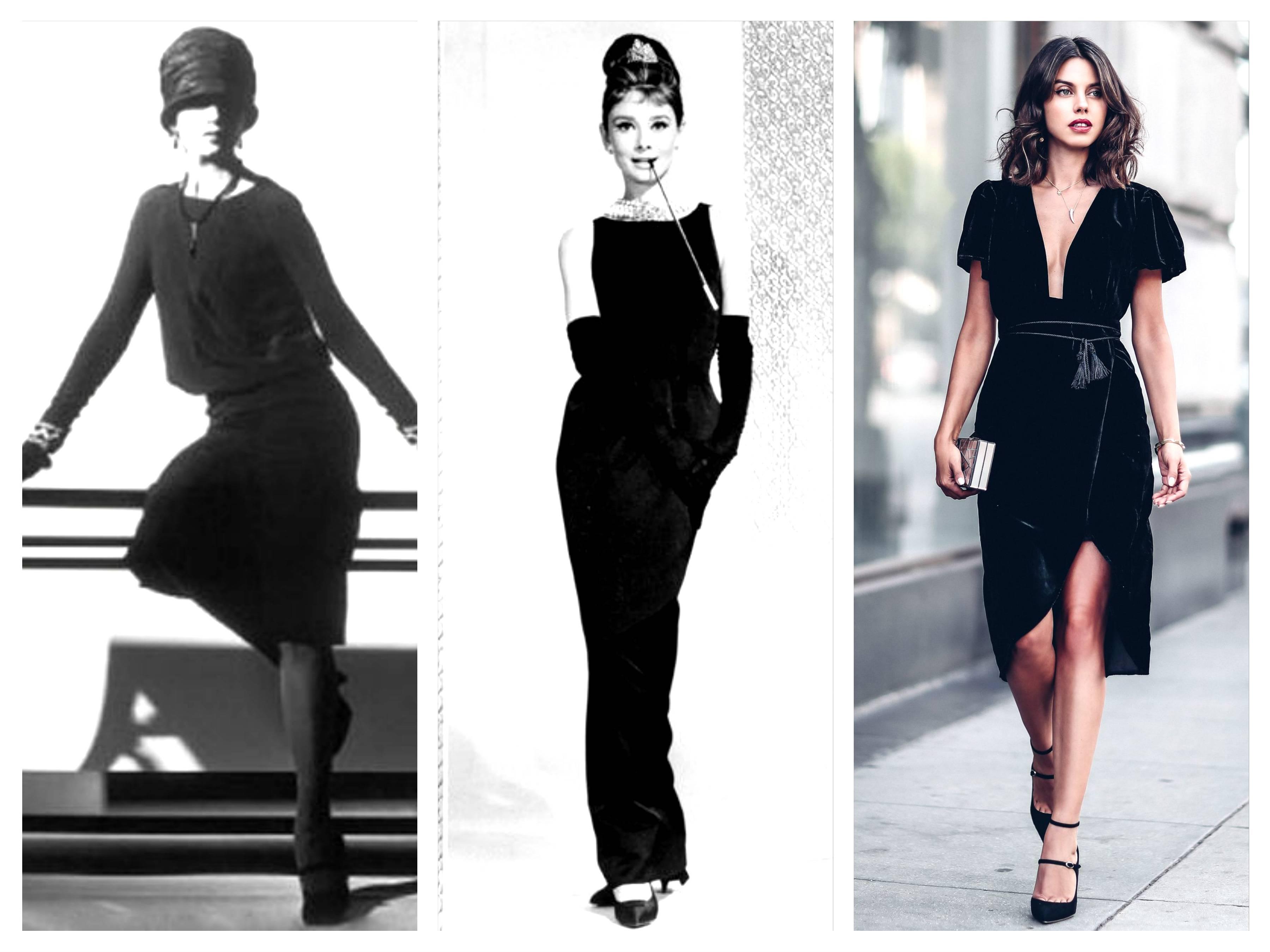 модные тренды 2019 маленькое черное платье