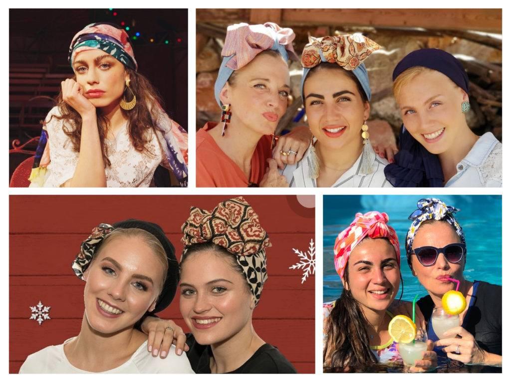 платки, хустки, как носить на голове тюрбан модный тренд