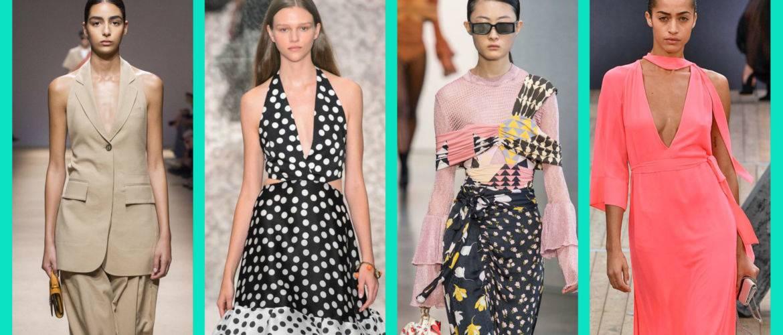 модные тренды весна 2019 модні тренди