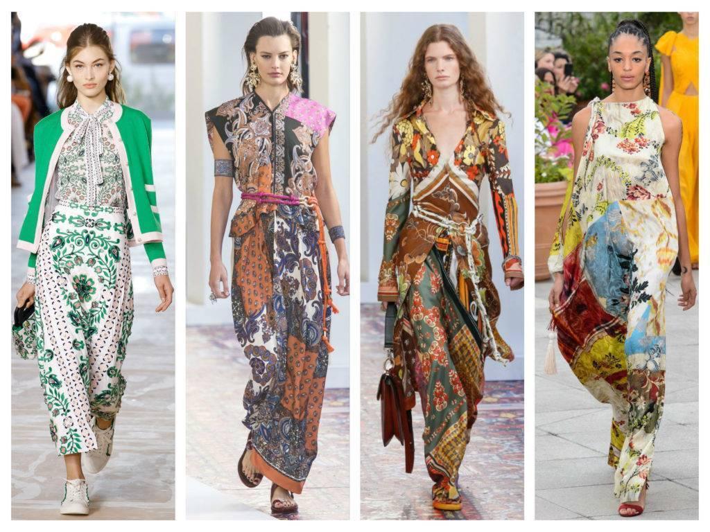 модные тренды весна 2019 платочный принт