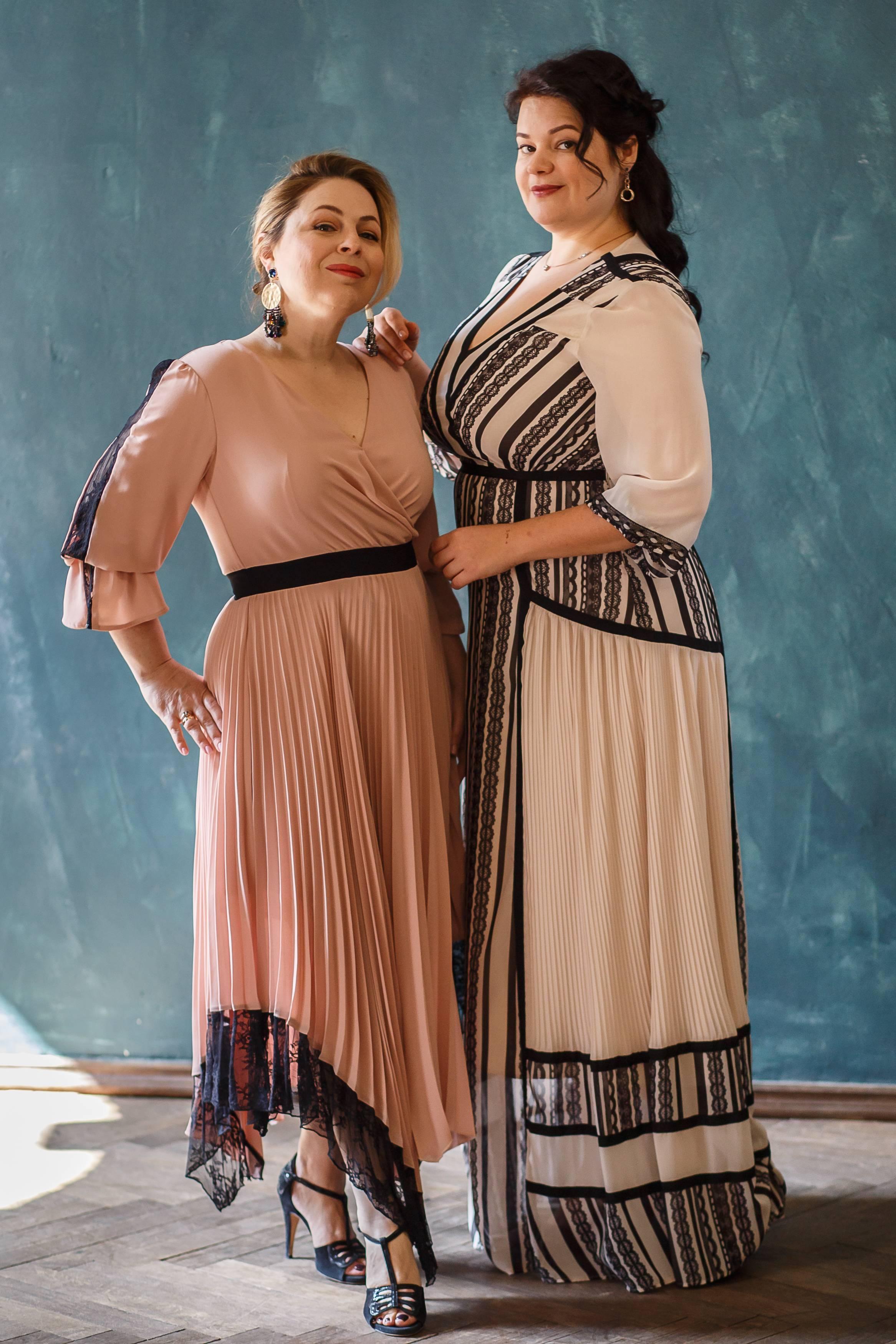 как одеваться полной девушке женщине одежда больших размеров как найти свой стиль