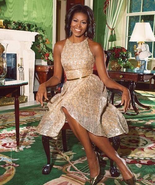 платье нью-лук, стиль Мишель Обамы