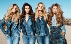 история джинсов деним guess