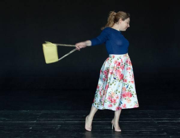 Пышные юбки фото юбка миди пышная с чем носить пышную юбку стиль нью-лук как одеваться полным женщинам фигура груша