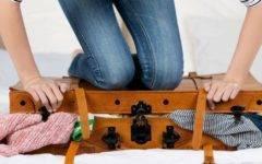как правильно собрать чемодан сложить упаковать как собраться в отпуск сложить чемодан на море