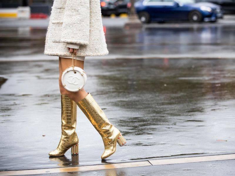 модные сапоги 2020 тренды модная обувь чоботи черевіки