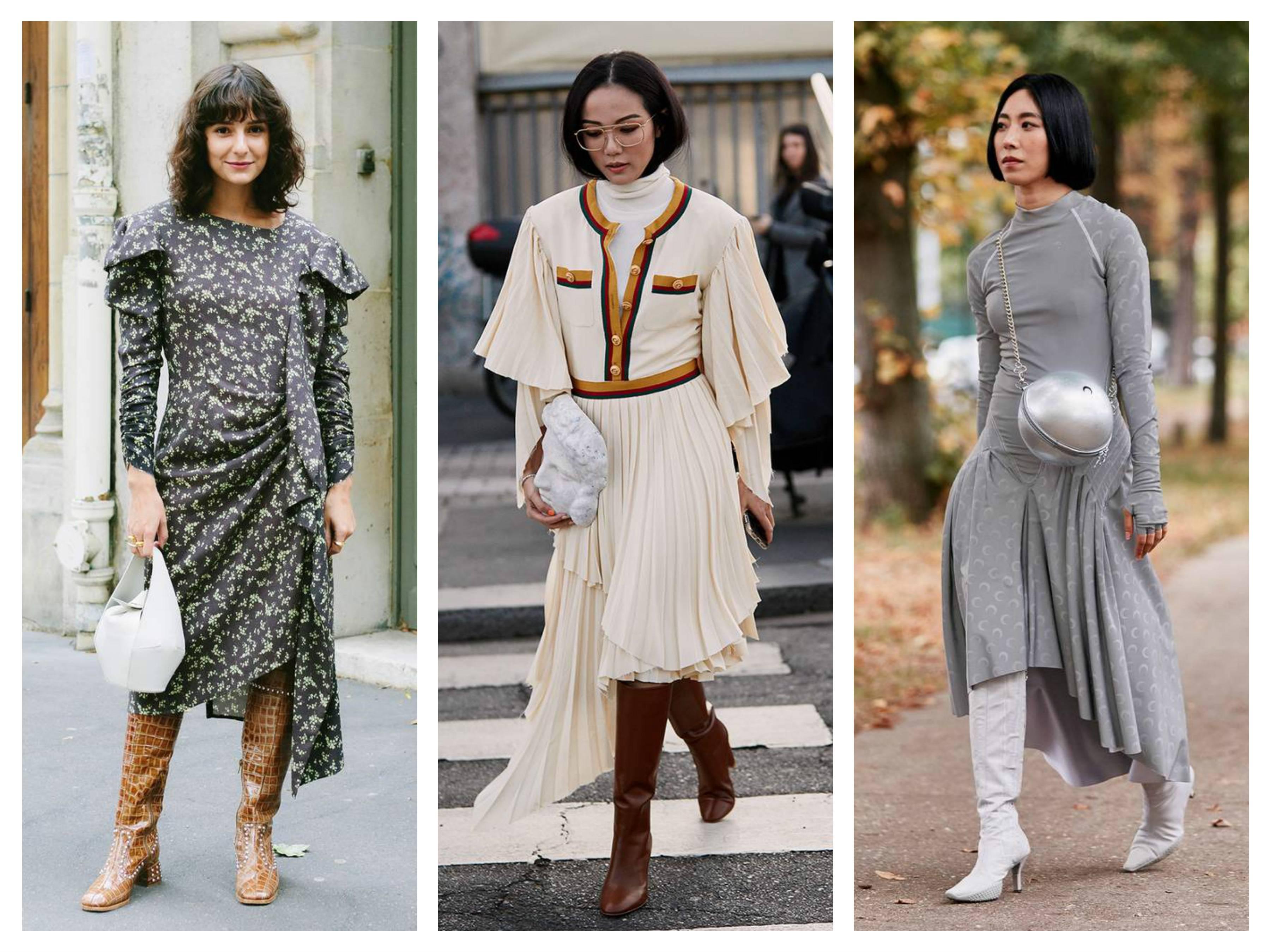 модные сапоги 2020