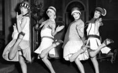 мода 20-х годов ар-деко история моды маленькое черное платье флэпперс