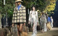 модный показ тренды 2020